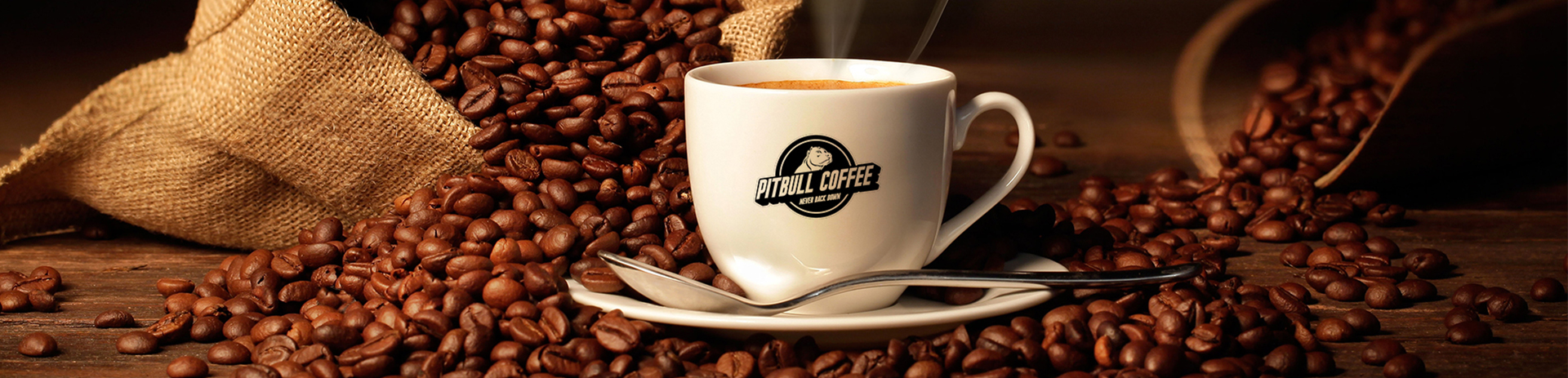 Pitbull Coffee Banner